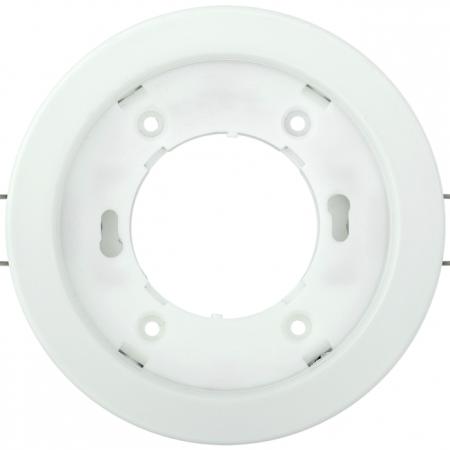 Светильник встраиваемый под лампу GX53 бел. ИЭК LUVB0-GX53-1-K01