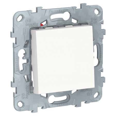 Переключатель 1-кл. UNICA NEW перекрестный (сх.7) 10AX 250В бел. SchE NU520518